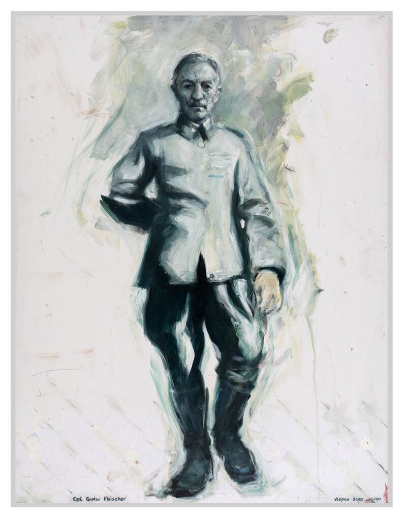Carl Gustav Fleischer Maleri
